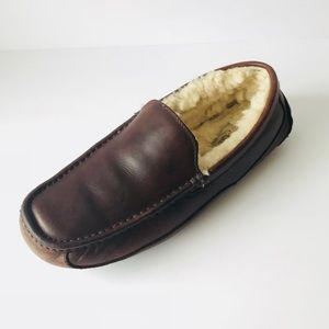 b9f0911a695 Men s Ugg Slippers Ascot Leather on Poshmark